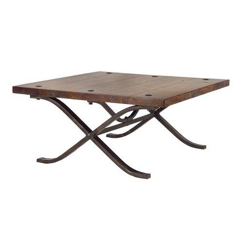 William Sheppee Ltd. RAJ108 Rajah Square Coffee Table by Friskies