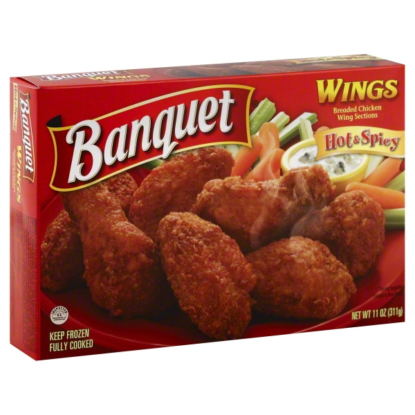 Banquet Spicy Wings