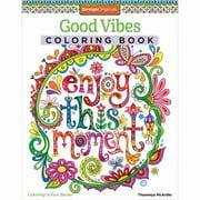 Design Originals Good Vibes Adult Coloring Book