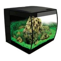 Fluval FLEX 15-Gallon Aquarium Kit, Black