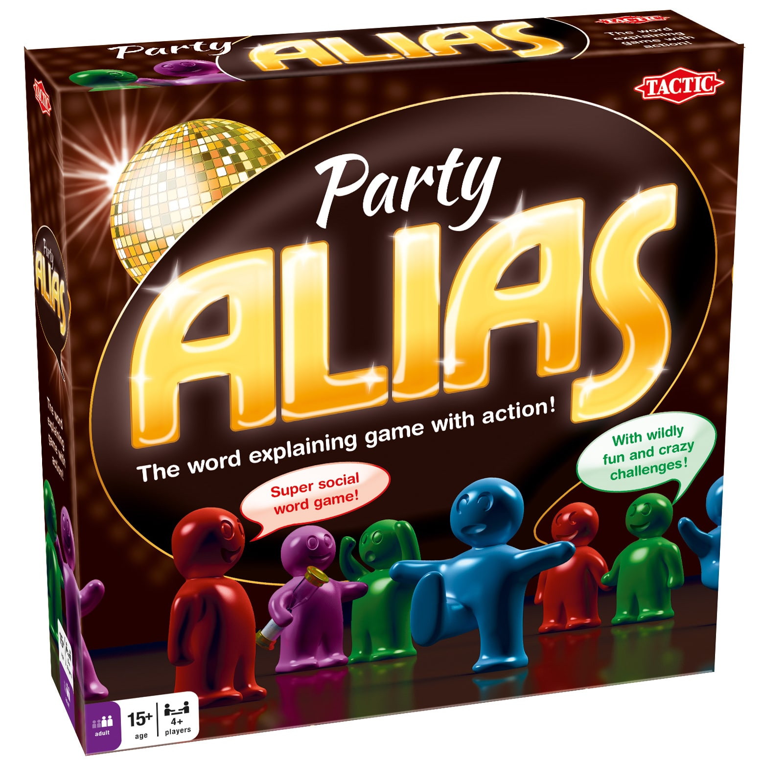 Tactic Games Party Alias Board Game by Tactic Games