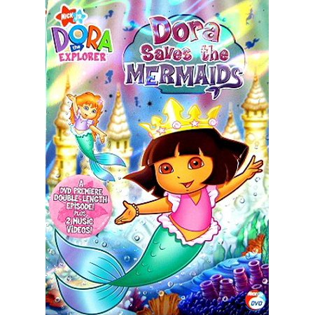 Dora The Explorer Dora Saves The Mermaids Walmart Com