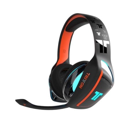 Tritton TRI903070002 ARK 100 Gaming Headset f/ PS4 - Black/Orange Color -