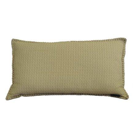 Winston Porter Kenilworth Diamond Texture Cotton Lumbar Pillow ()