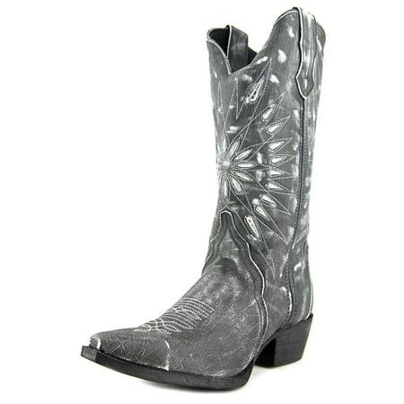 Ladies Western Black Leather Boots - Laredo Lad 12 Women  Pointed Toe Leather Black Western Boot