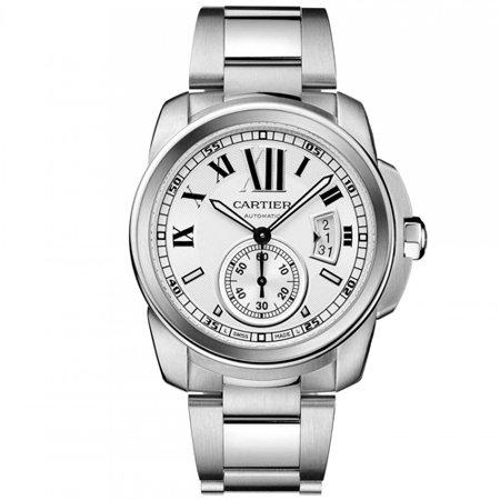 Cartier Swiss Replica Watches - Cartier Men's Calibre Watch Swiss automatic Anti reflective Crystal W7100015