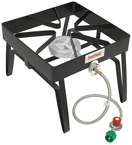Bayou Classic Sq14 Single Burner Outdoor Patio Stove 55;000 Btu by