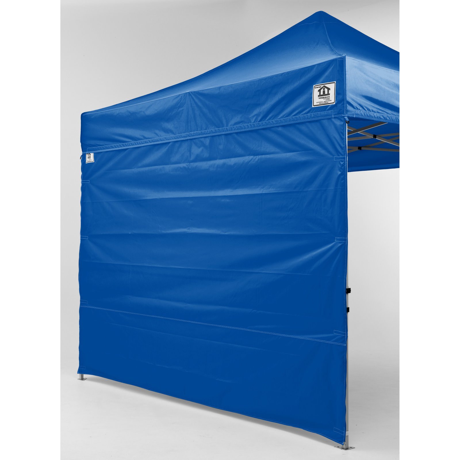 Impact Canopy 10 x 10 ft. Pop Up Canopy with Sidewalls and Roller Bag