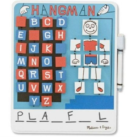 Halloween Hangman Skeleton Games (melissa & doug 538540 hangman,)