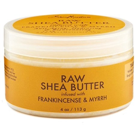 Shea Moisture Raw Shea Butter Infused with Frankincense & Myrrh 4