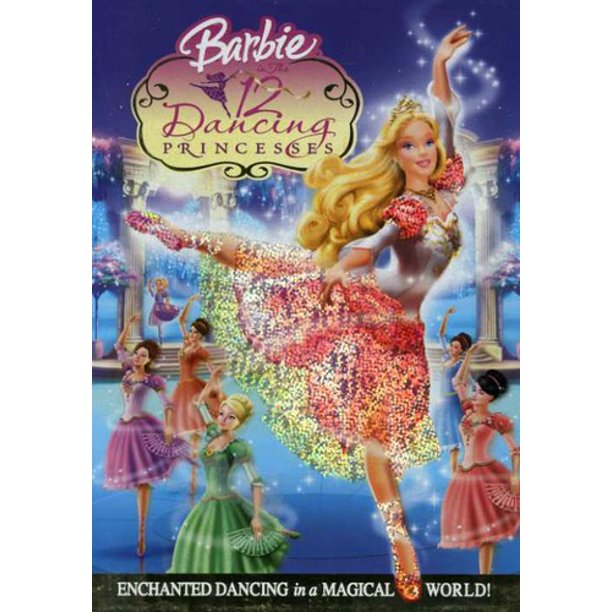 Barbie In The 12 Dancing Princesses Dvd Walmart Com Walmart Com