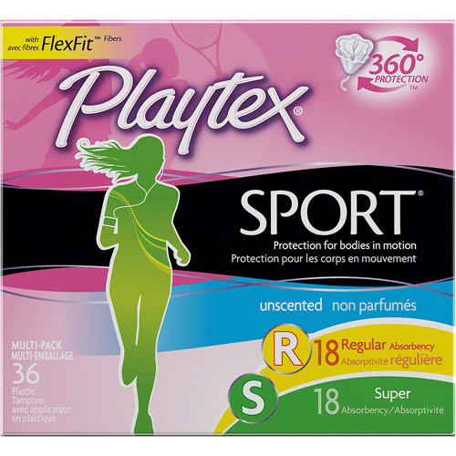 Playtex Tampons Multipack Unscented, 36ct