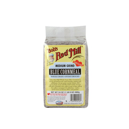 Image of Bobs Red Mill Cornmeal Blue, 24 Oz