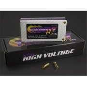 Trinity TRITEP2300 1S 3.7V 6500mah 100c High Voltage Pack with 5 mm Bullets