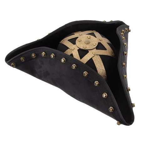 Pirates Of The Caribbean Blackbeard Hat Costume Accessory Adult