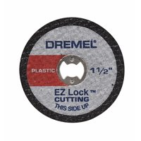 Dremel EZ476 EZ Lock 1-1/2 inch Cut-Off Wheels for Plastic, 5-Pack