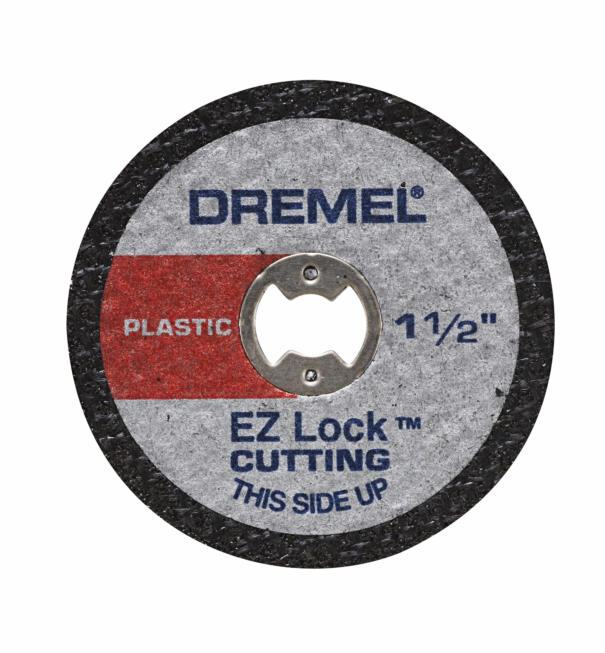 Dremel EZ476 EZ Lock 1-1/2 inch Cut-Off Wheels for Plastic, 5-Pack