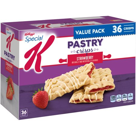 Kellogg's Special K Pastry Crisps Strawberry 36