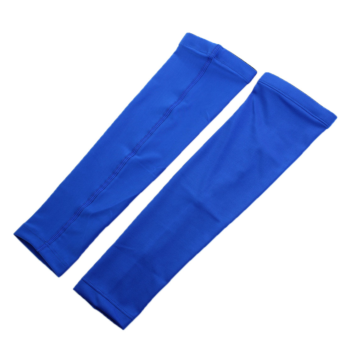 Sports Basketball Cycling Sun Protection Arm Sleeves Band Size M Pair