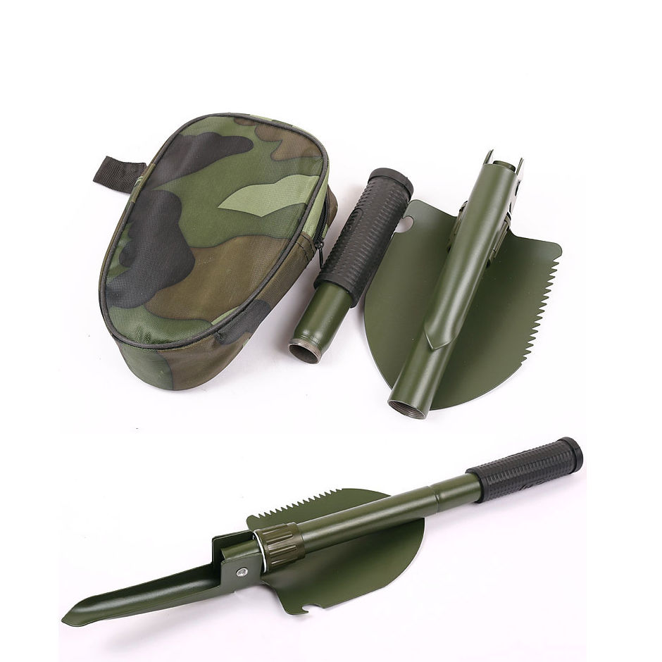 Multi-functional Military Folding Shovel Survival Spade Emergency Garden Camping-Green... by