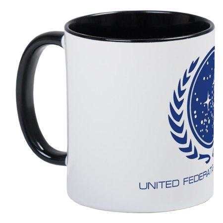 Planets Cafepress MugCup United Of Unique Trek; Star Federation Mug Coffee XnNO8wPk0Z