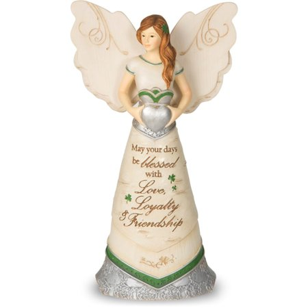 Pavilion Gift Company Elements 82340 Irish Blessing Angel Figurine
