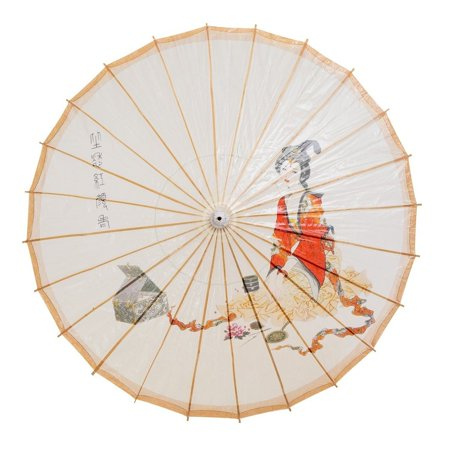 - THY COLLECTIBLES Rainproof Handmade Chinese Oiled Paper Umbrella Parasol 33