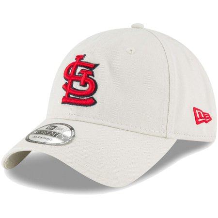 St. Louis Cardinals New Era Core Classic Twill 9TWENTY Adjustable Hat - Tan - (Hat Cardinal's)