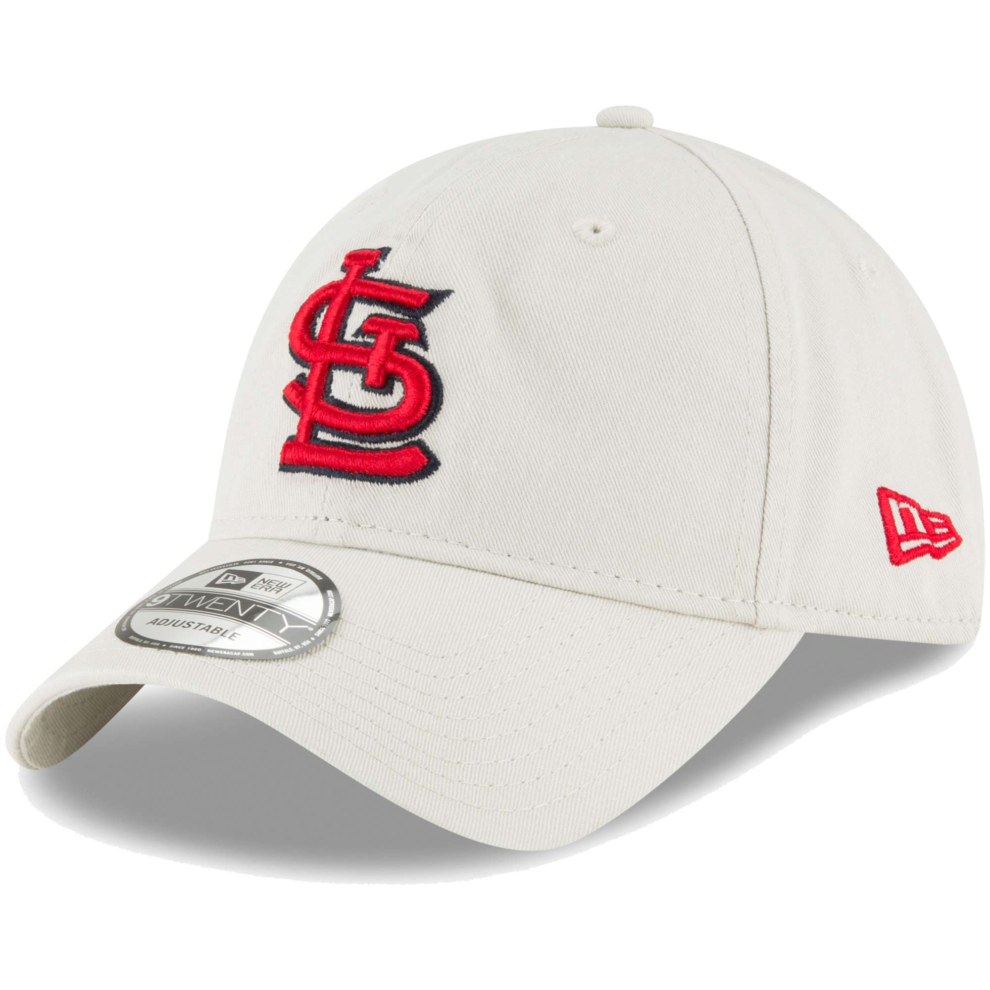 St. Louis Cardinals New Era Core Classic Twill 9TWENTY Adjustable Hat - Tan - OSFA