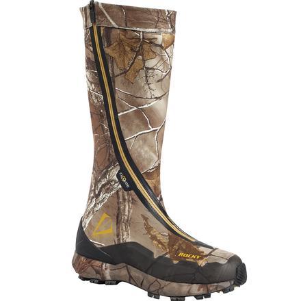 Rocky Men's BROADHEAD Zipper Camo Hunting Boots 8 M by