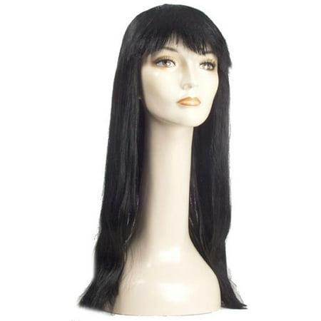 Pageboy Bargain Long Wig, Dark Brown - image 1 de 1