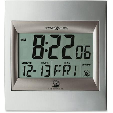 Howard Miller, MIL625236, Radio Control LCD Alarm Clock,