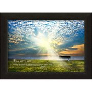 Carpentree ''I Am with You Jesus Calling'' Framed Photographic Print