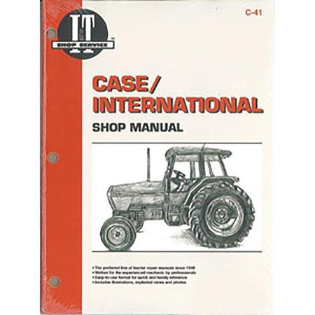 Case International Repair Manual - C41 New Case International Harvester Tractor Shop Manual 5120 5130 5140