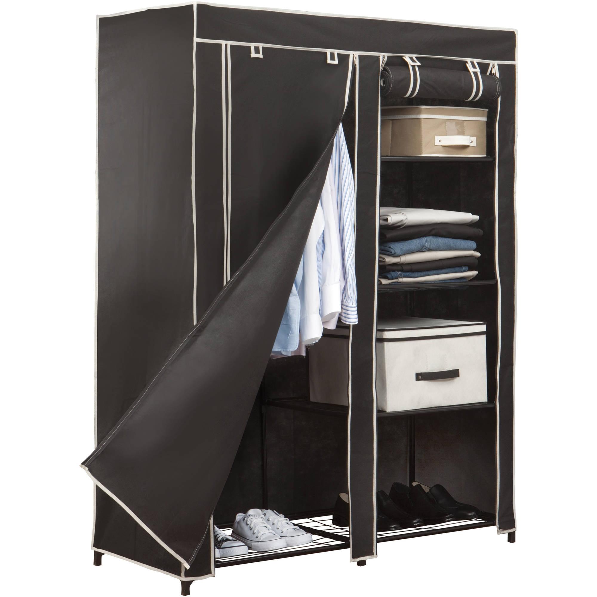"48"" Portable Closet, Black"