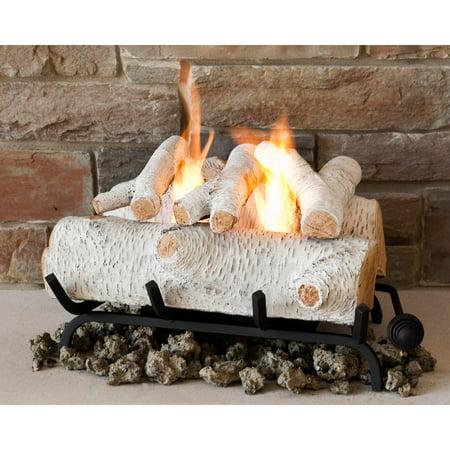 Real Flame 18 in. Convert to Gel Log Insert- Birch - Walmart.com