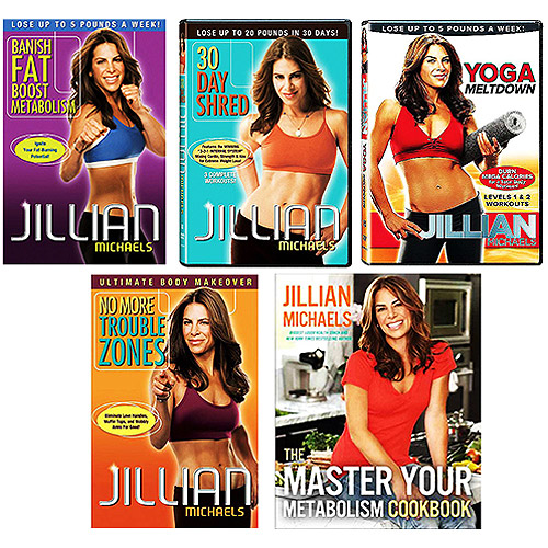 Jillian Michaels Customer's Choice Workout DVD with Jillian Michaels Cookbook