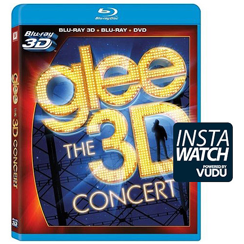 Glee: The 3D Concert Movie (3D Blu-ray + 2D Blu-ray + DVD) (With INSTAWATCH) (Widescreen)