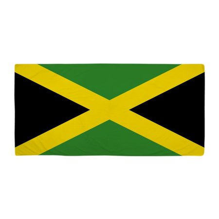 CafePress - Jamaican Flag - Large Beach Towel, Soft 30