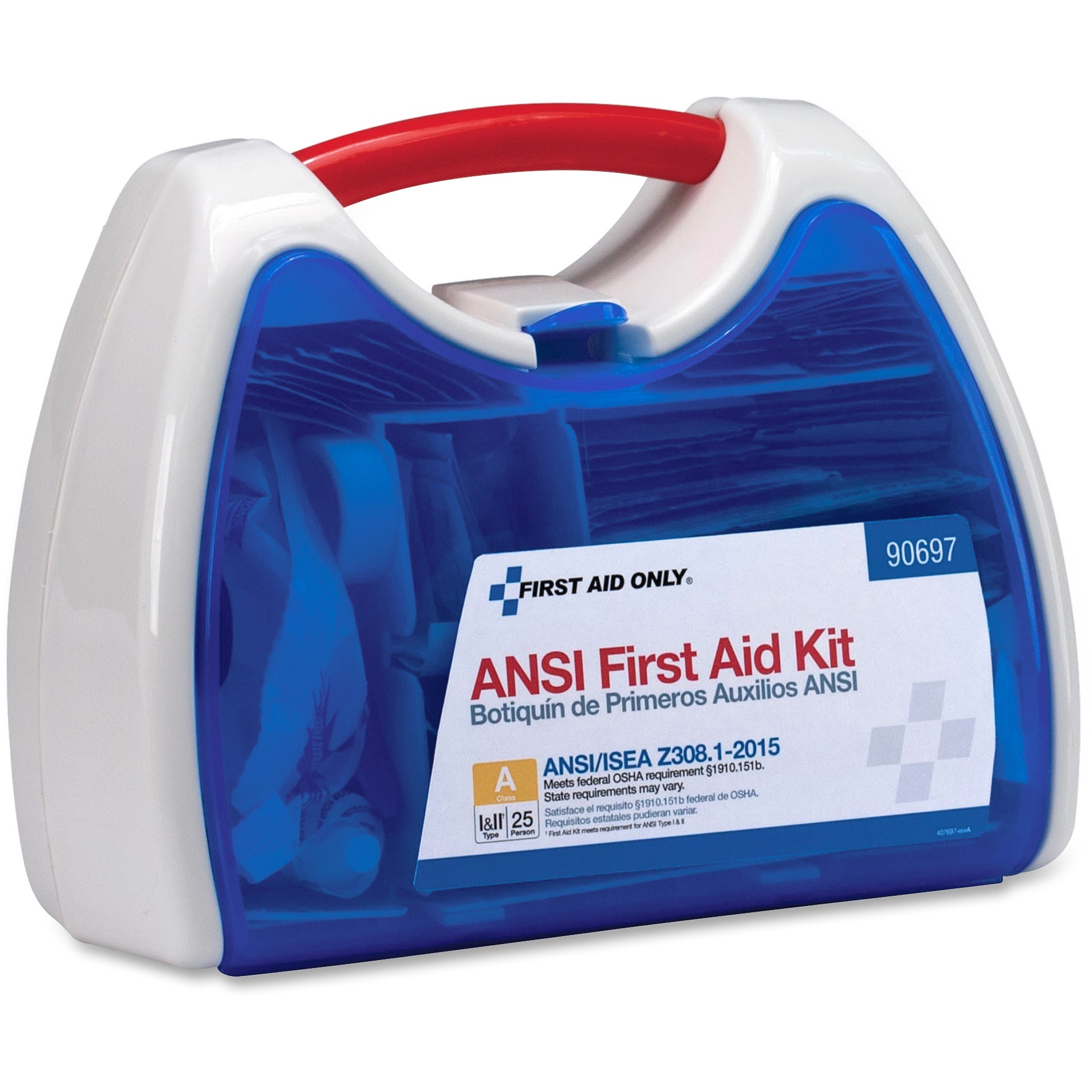 First Aid Only, FAO90697, First Aid Only 141-Piece Small First Aid Kit, 1 Each
