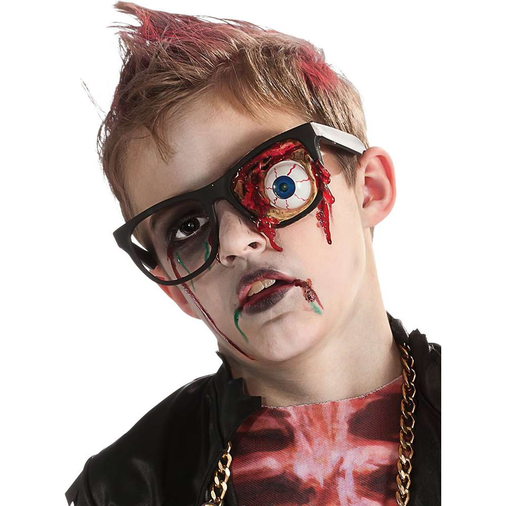 Kids Zombie Prosthetic Eyeball Glasses
