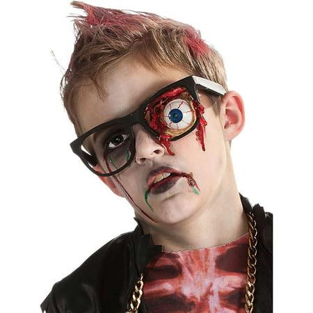 Kids Zombie Prosthetic Eyeball Glasses - Funny Eyeball Glasses
