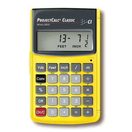 8503 Projectcalc Clic Home Improvement Calculator For Do It Yourselfers Dedicated Diy Functions Help You