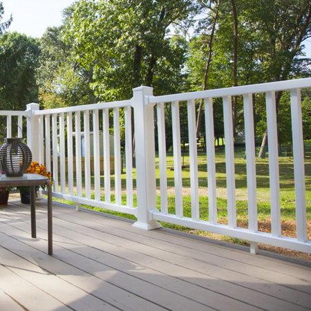 Xpanse Select Vinyl Railing 3 ft. H Rail Kit Fence