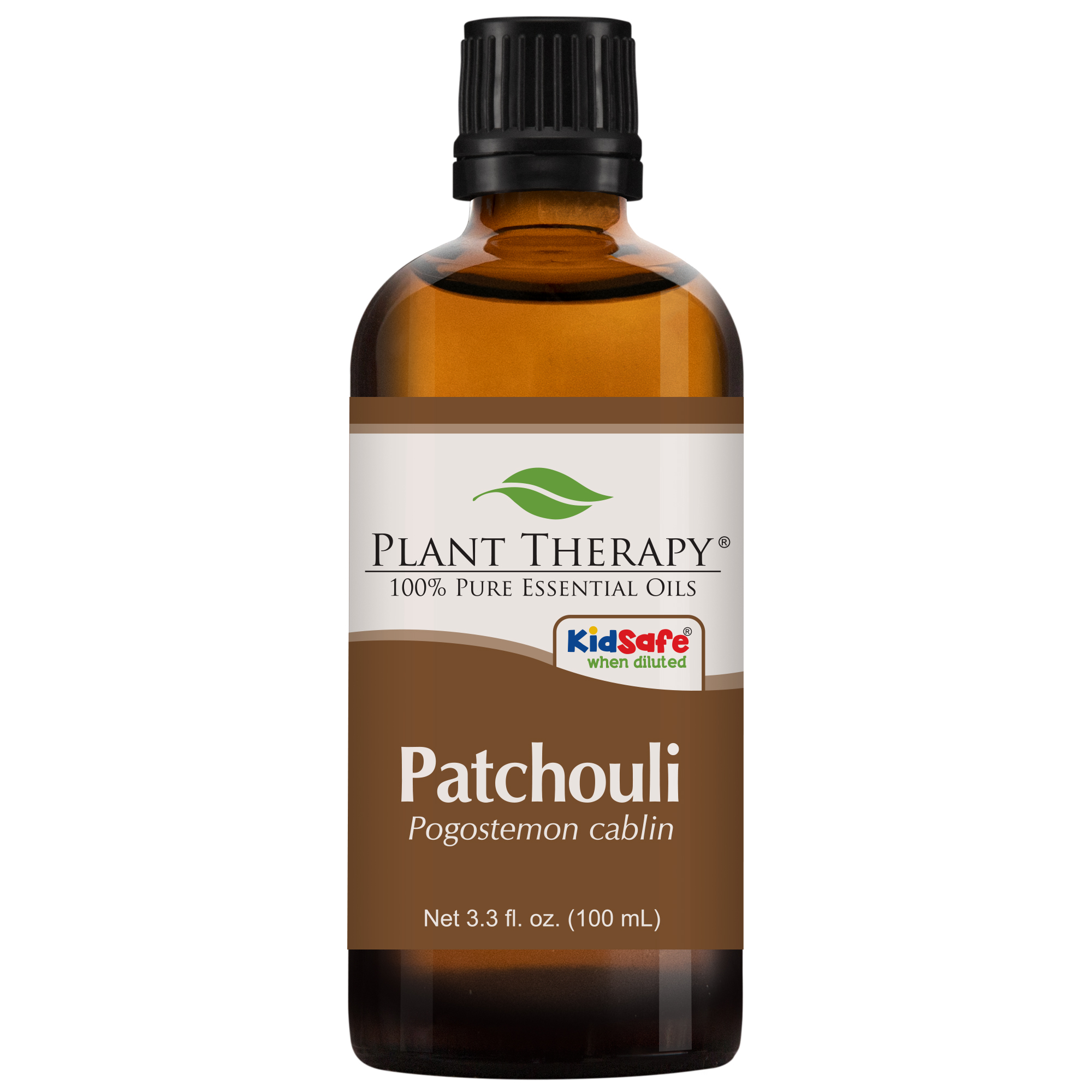 Plant Therapy Patchouli Essential Oil | 100% Pure, Undiluted, Natural Aromatherapy, Therapeutic Grade | 100 mL (3.3 oz)