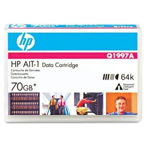 Hp Ait-1 Tape Cartridge - Ait-1 - 35 Gb [native] / 70 Gb [compressed] - 754 Ft Tape Length (q1997a)