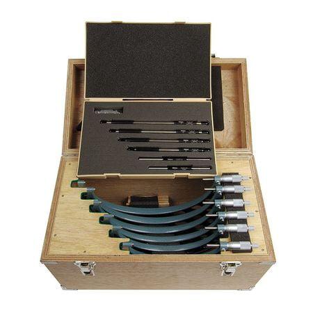 Mitutoyo Micrometer Set - Mitutoyo Micrometer Set, 103-909