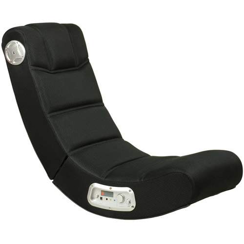 X Video Rocker Impact Mesh Sound Gaming Chair, Black, 51056