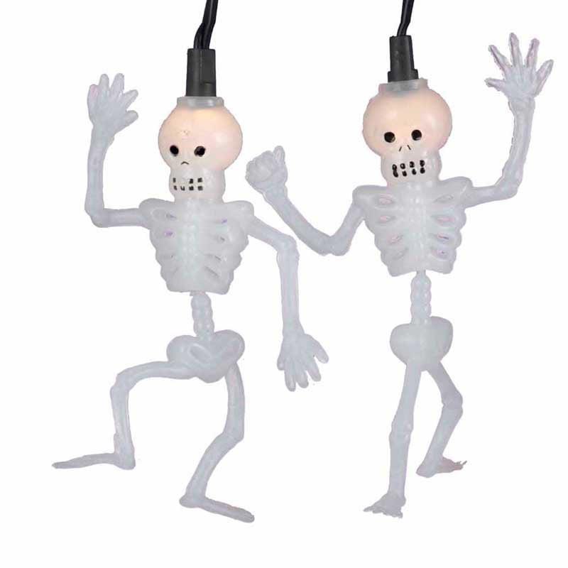Kurt Adler Dancing Skeleton 10 ct. Light Set