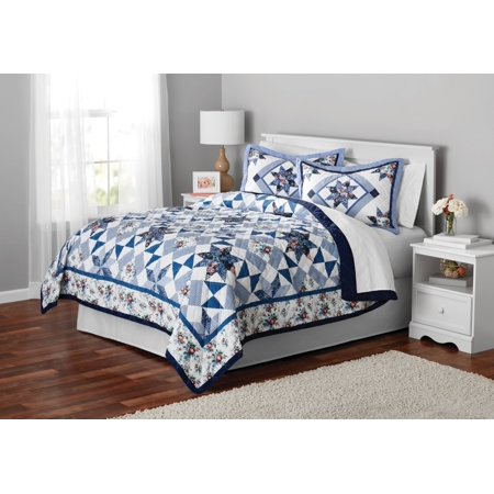Mainstays Classic Claires Rose Patterned Bedding